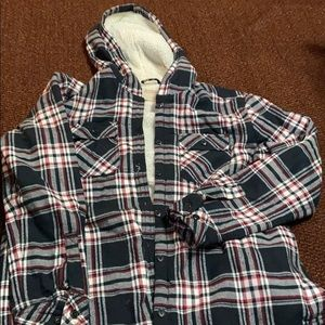 Lined flannel jacket!